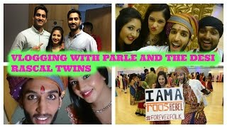 DESI RASCAL TWINS, GARBA AND PLANET PARLE ALL IN ONE DAY! VLOG!