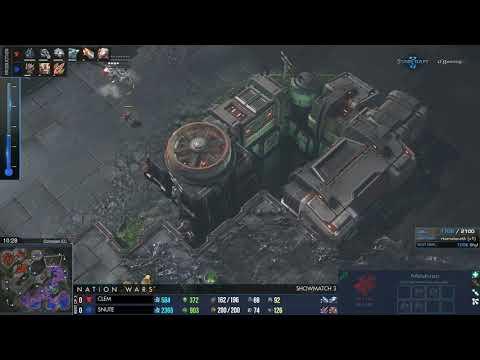(HD998) Clem Vs Snute - TvZ - Starcraft 2 Replays [FR]