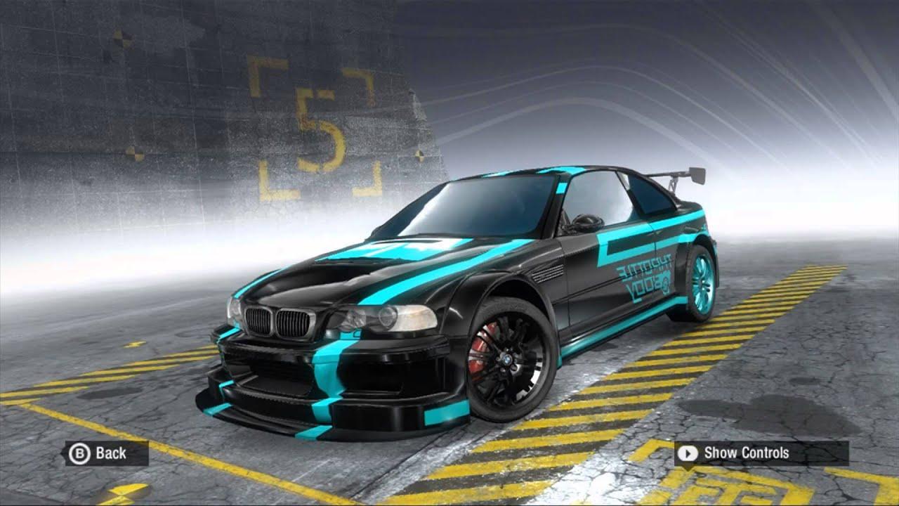 Ft98 Need For Speed Prostreet My Custom Vinyls Youtube