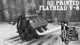 3D Printed Ford Flathead V8 Engine Kit by Night Crawlers 3D