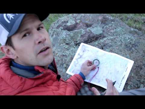 Learn Map & Compass with Andrew Skurka, Part 2: Find and transfer bearings in the field and on a map