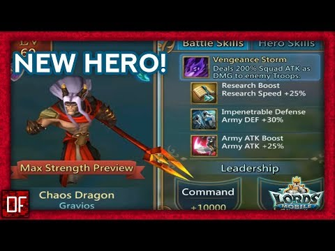 Lords Mobile: New Hero! DON