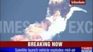 Disaster of Indian communications satellite GSAT-5P  launch vehicle