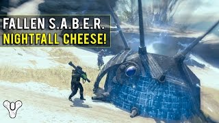 Destiny Glitches - New Fallen Saber Nightfall Cheese!