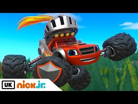 New Channel! Blaze and the Monster Machines | Royal Rescue | Nick Jr. UK