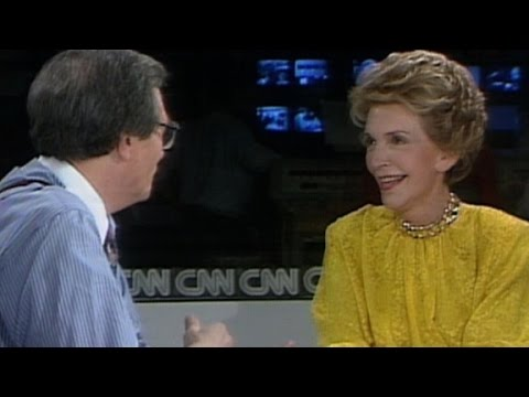 Nancy Reagan dishes about new memoir (1989)