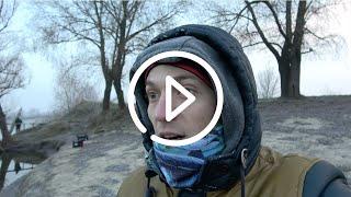Avanfish рыбалка не удалась стал лед Старались как могли