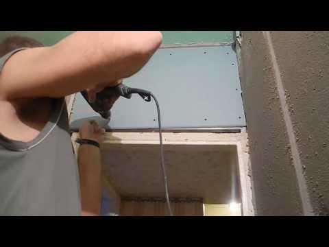 видео: Монтаж перегородки из гипсокартона