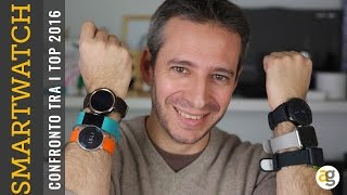 CONFRONTO i 6 migliori Smartwatch e Wearable