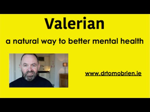 Valerian health benefits anxiety, insomnia, depression