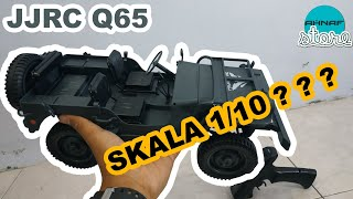 UNBOXING & REVIEW JJRC Q65 JEEP WILLYS 1/10