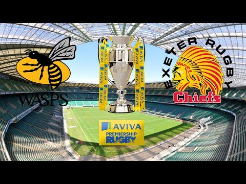 Wasps vs Exeter Chiefs - Aviva Premiership Final - Rugby Challenge 3