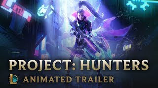 Gambar cover The Hunt   PROJECT: Hunters Animated Trailer - League of Legends (ซับไทย)