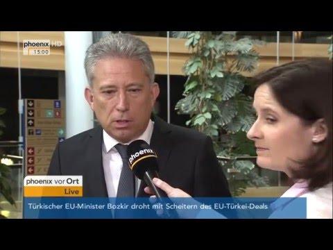 EU-Politik: Monika Hohlmeier und Kostas Chrysogonos geben Interview am 11.05.2016