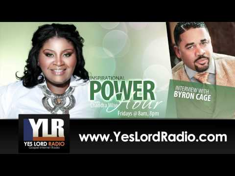 Byron Cage talks Memoirs of a Worshiper with Chandra Wise!