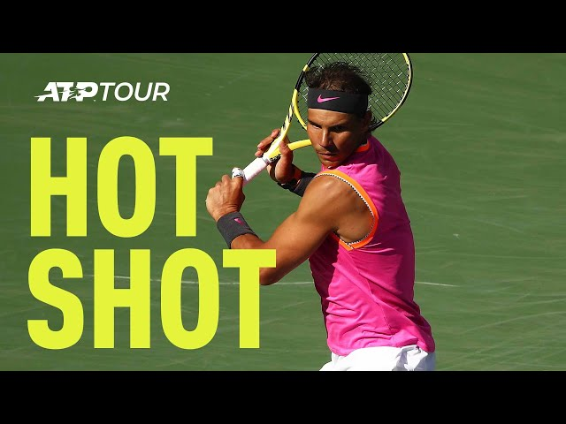 Hot Shot: Nadal Unleashes Drop Shot Out Of Nowhere In Indian Wells 2019