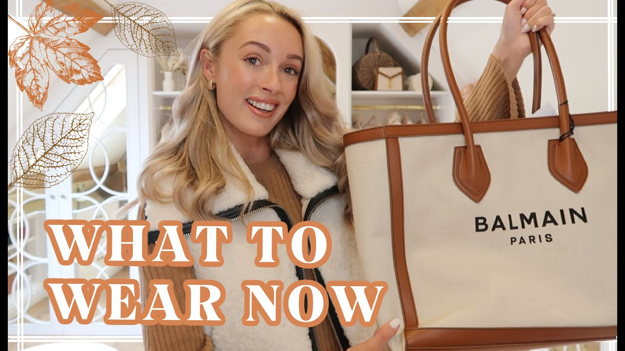 WHAT TO WEAR NOW //  AUTUMN OUTFIT IDEAS // Fashion Mumblr