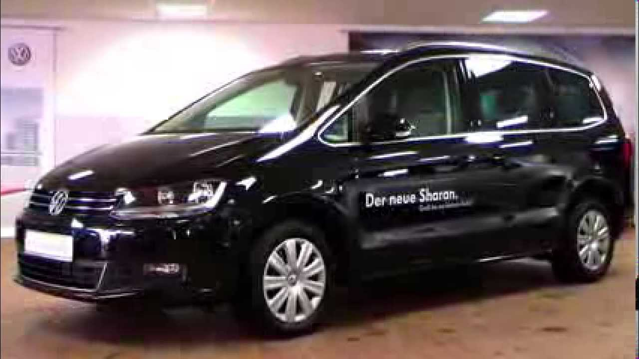 New Volkswagen Sharan Comfortline 2 0 Tdi 2011 Deep Black
