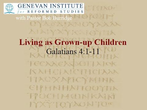 Living as Grown-up Children