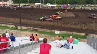 Figure 8 Racing in Hampton @ 2pm 8/19/18 Old School Stock Feature Pt 2