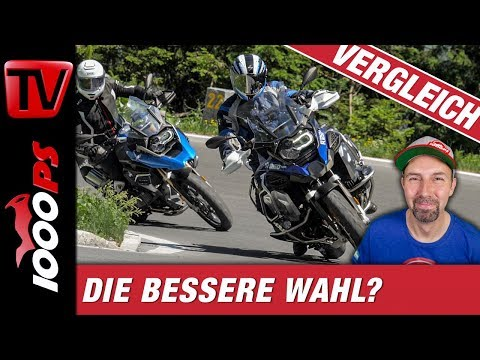 Alpenduell BMW R 1250 GS vs. R 1250 GS Adventure
