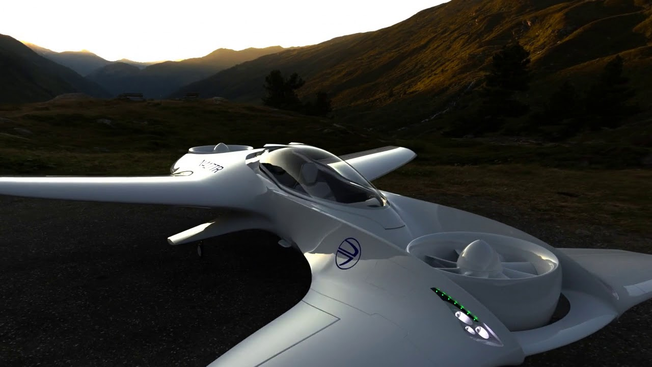 Delorean Aerospace Dr 7 Vtol Aircraft Youtube