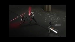 Star Wars: Rebels - Ahsoka Duels the Inqusitors Audio Cue