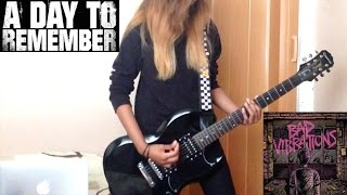 A Day To Remember - Bullfight - Guitar Cover