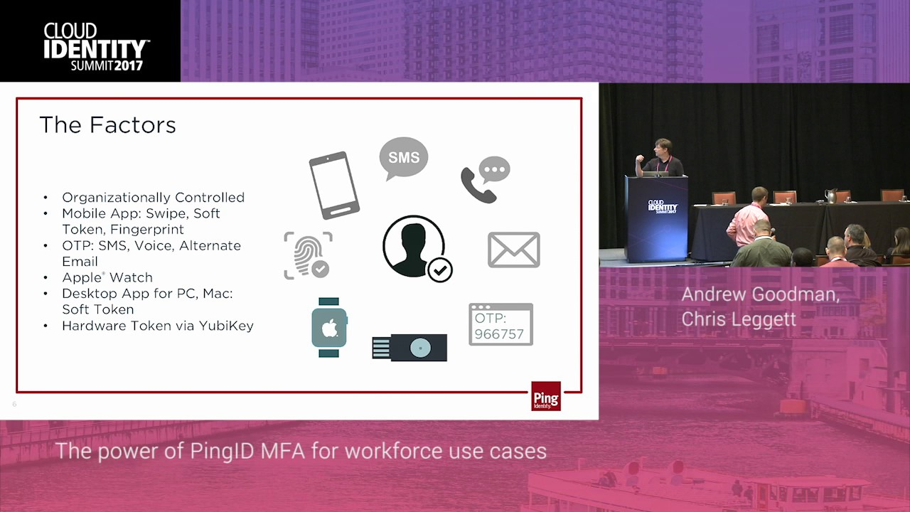 6/19 | Ping Identity Workshop: The Power of PingID for Workforce Use Cases  | CIS 2017