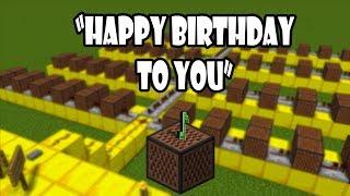Happy Birthday To You - Noteblock Edition