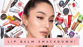 I Tested 40 Lip Balms So You Don't Have To 👄 Lip Balm SMACKDOWN   Karima McKimmie