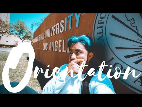 Not like UCLA? CSULA ORIENTATION
