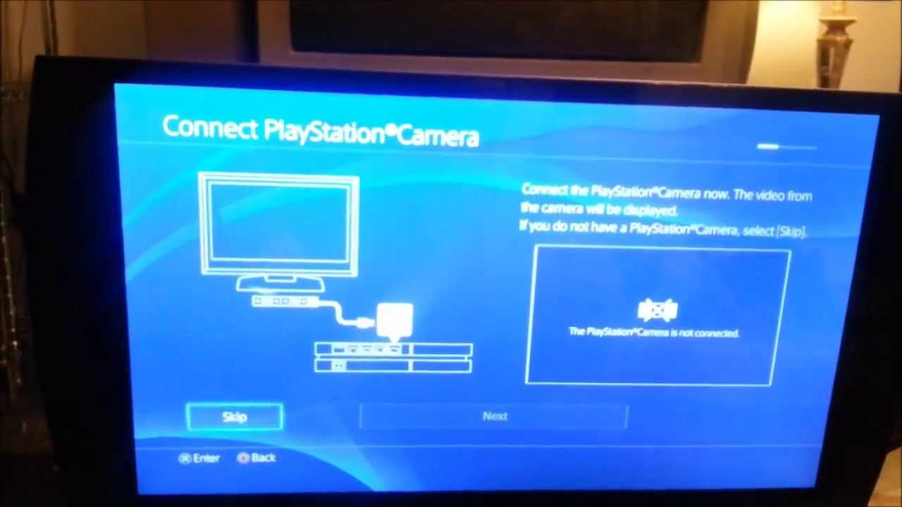 Ps4 Initial Set Up Game Set Up And Ui Overview Youtube