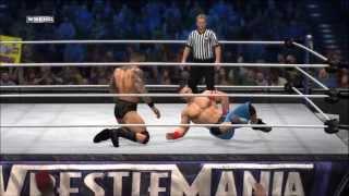 WWE 12 John Cena Vs Randy Orton Commentary