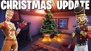 The Fortnite Christmas Update is Here! (Fortnite Battle Royale)