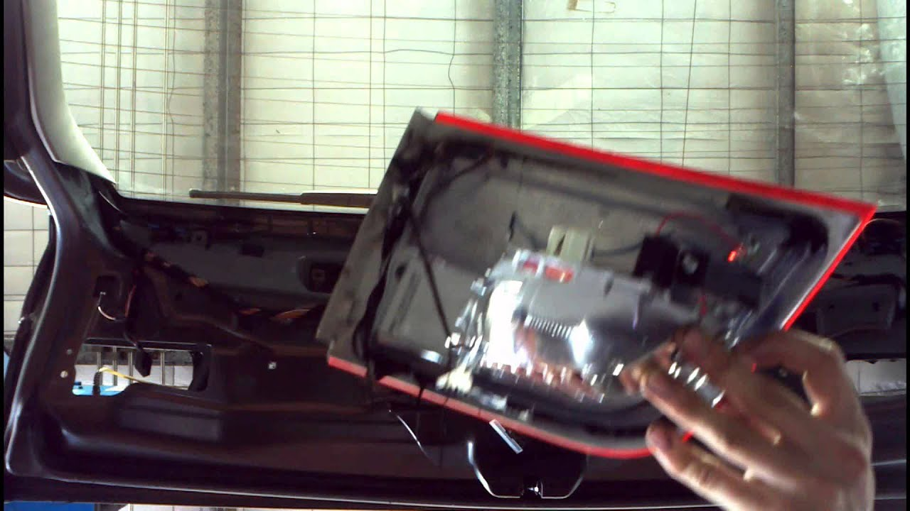 bmw x5 e70 tail light wiring diagram chromalox heater fix water inside inner how to diy