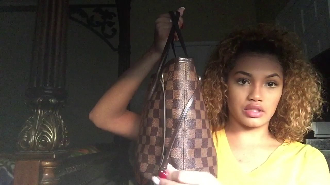 Louis Vuitton Neverfull PM  what s in my Bag ❤ - YouTube f397996d6e3c5