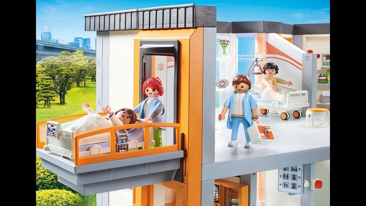 Playmobil YA-16 woman figure médecin hôpital vétérinaire City Life Dollhouse