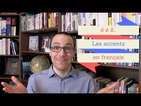 é, è, ê... Les accents en français