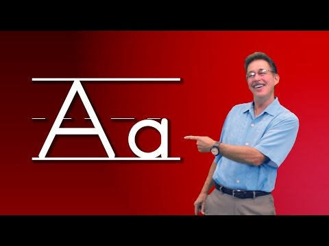 Letter A   Alphabet Song for Kids   Let's Learn About The Alphabet   Phonics Song   Jack Hartmann