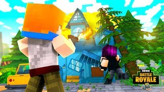 Minecraft Fortnite - DOUBLE ROCKET LAUNCHER! (Fortnite Battle Royale Mods)