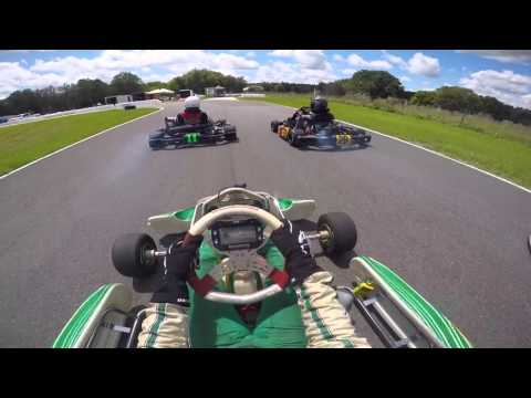 Bushnell Kart Racing Series - Highlights (125cc Tony Kart)