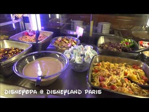 Disneyland Paris Restaurant Cheyenne Hotel Chuck Wagon Cafe DisneyOpa