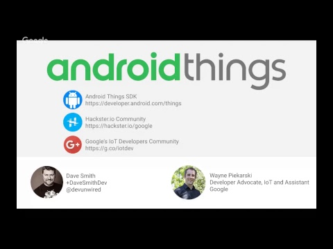 Bootstrapping IoT Products with Android Things