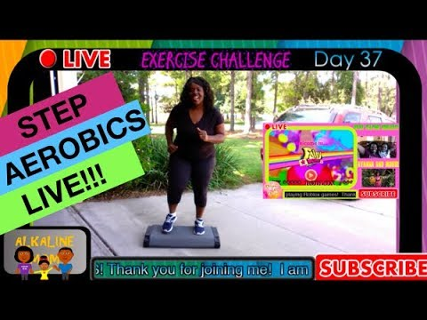 🔴 LIVE: Workout - Exercise Challenge Day #36 | Kickboxing & Step Aerobic  Workout | Fat to Fit