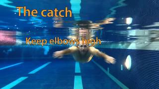 How to swim Breaststroke - Underwater Arms
