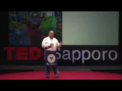 Wine strange power | Bruce Gutlove | TEDxSapporo