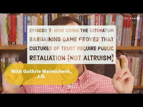 Episode 7: Cultures of Trust Require Public Retaliation (NOT Altruism)