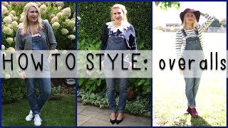 How To Style Overalls | Mademoiselle Ruta
