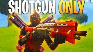 Fortnite SHOTGUN ONLY Challenge! (Hard) - PS4 Fortnite BR Challenge Gameplay